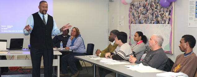 NYCHA partner Adult Education Class
