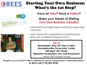 opportunitynycha rees starting your own business what s the 1st
