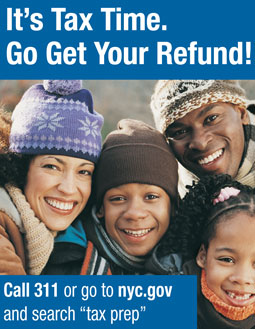 Its tax time - go get your refund.