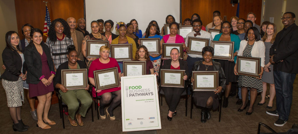 Food Business Pathways CoHort 4 Graduation Ceremony