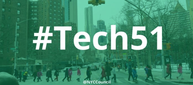 #TECH51 NYC Council